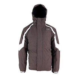 Куртка горнолыжная Campus Rockland коричнево-белая