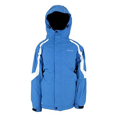 Куртка горнолыжная детская Campus Rockland junior голубая-черно-белая