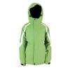 Куртка горнолыжная детская Campus Rockland junior зелено-черно-белая - фото 1