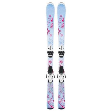 Лыжи горные детские Head nice one 77 см + крепления SL45