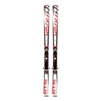 Фото 1 к товару Лыжи горные Volkl RTM 75 166 см + крепления 4Motion 10.0