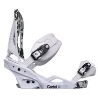 Крепления для сноуборда Burton Cartel EST'12 white