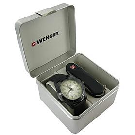 Фото 3 к товару Набор Wenger часы 70474 + нож 1.110.09.814