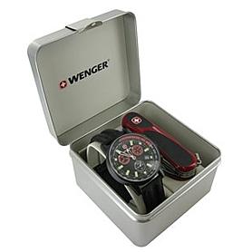 Фото 3 к товару Набор Wenger часы 70731 + нож 1.17.59.821