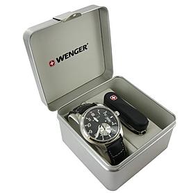 Фото 3 к товару Набор Wenger часы 72470 + нож 1.580.11.814