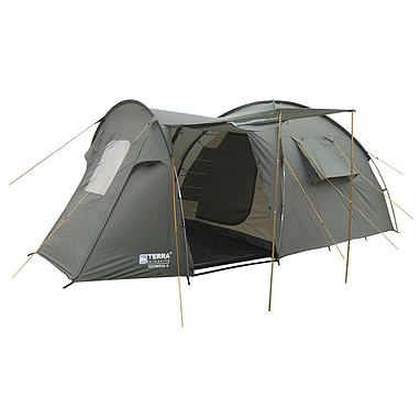 Палатка четырехместная Terra incognita Olympia 4 хаки