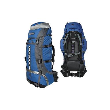 Рюкзак туристический Terra Incognita Vertex 100 сине-серый