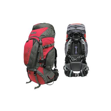 Рюкзак туристический Terra Incognita Discover 70 красно-серый + подарок