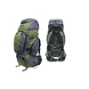 Рюкзак туристический Terra Incognita Discover 85 зелено-серый - фото 1