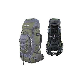 Фото 1 к товару Рюкзак туристический Terra Incognita Fronter 90 зелено-серый