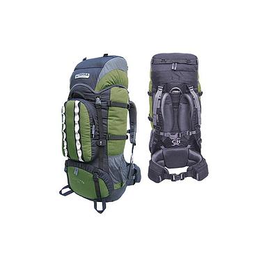 Рюкзак туристический Terra Incognita Mountain 100 зелено-черный
