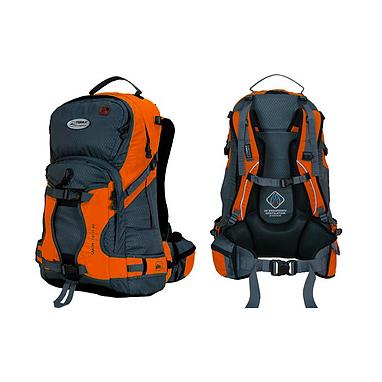 Рюкзак спортивный Terra Incognita Snow-Tech 40 оранжево-серый