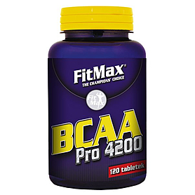 Аминокомплекс FitMax BCAA Pro 4200 (120 капсул)