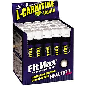Фото 1 к товару Жиросжигатель FitMax L-Carnitin (20 ампул)