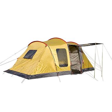 Палатка четырехместная Campus R00420 желтая