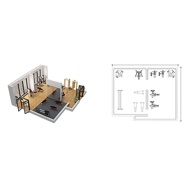 Силовой тренажерный зал