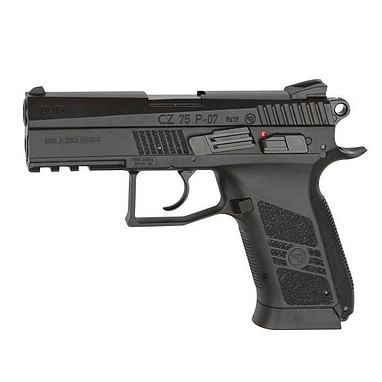 Пистолет пневматический (СО2) ASG CZ 75 P-07 Blowback 4,5 мм