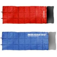 Фото 1 к товару Мешок спальный (спальник) с подушкой Кемпинг