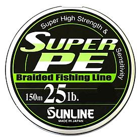 Фото 1 к товару Шнур Sunline Super PE 150м 0.26мм 25LB/11.3кг белый