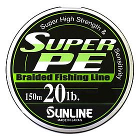 Фото 1 к товару Шнур Sunline Super PE 150м 0,235мм 20Lb/9кг темно-зеленый