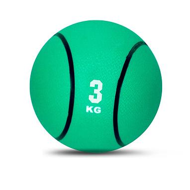 Медбол резиновый 3 кг
