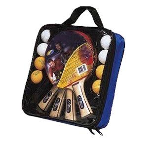 Набор для настольного тенниса на четверых (4 ракетки, 8 мячей) Joerex JTB012