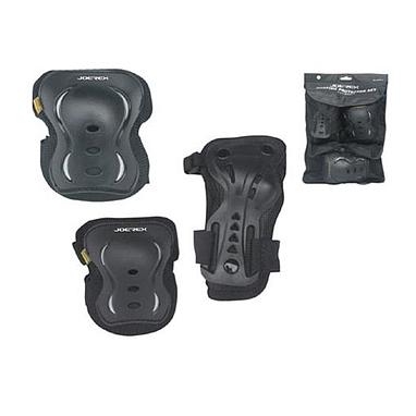 Защита для катания детская (комплект) Joerex черная