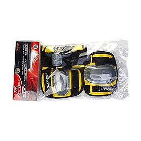 Защита для катания детская (комплект) Joerex желтая