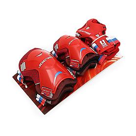 Защита для катания детская (комплект) Joerex красная