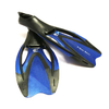Ласты с закрытой пяткой Dolvor F727 синие, размер - 42-43 - фото 1