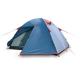 Фото 1 к товару Палатка двухместная Sol Tourist с двумя входами
