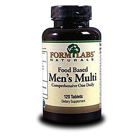 Комплекс витаминов и минералов FormLabs Food Based Men's Multi (120 капсул) для мужчин