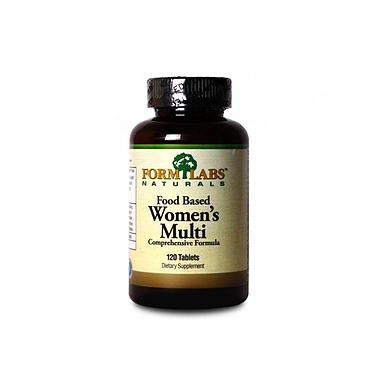 Комплекс витаминов и минералов FormLabs Food Based Women's Multi (120 капсул) для женщин