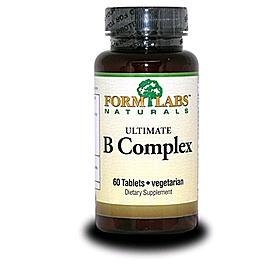 Фото 1 к товару Витамины группы В FormLabs Ultimate B-Complex (60 капсул)