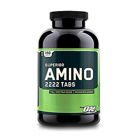Аминокомплекс Optimum Nutrition Superior Amino 2222 (160 таблеток)
