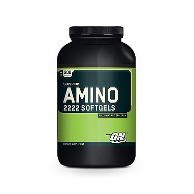 Аминокомплекс Optimum Nutrition Superior Amino 2222 (300 капсул)