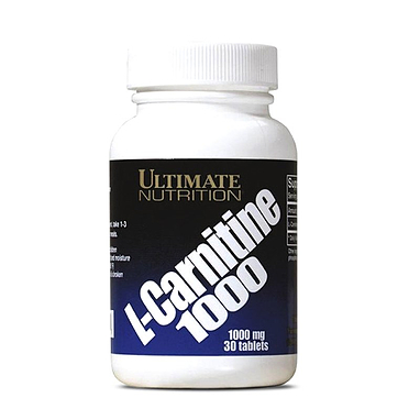 Жиросжигатель Ultimate Nutrition L-Carnitine 1000 (30 капсул)