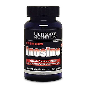 Стимулятор Ultimate Nutrition Inosine capsules (100 капсул)