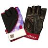 Перчатки спортивные женские Mad Max Nine-Eleven MFG 911 черно-красные - фото 1