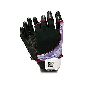 Фото 2 к товару Перчатки спортивные женские Mad Max Nine-Eleven MFG 911 черно-красные
