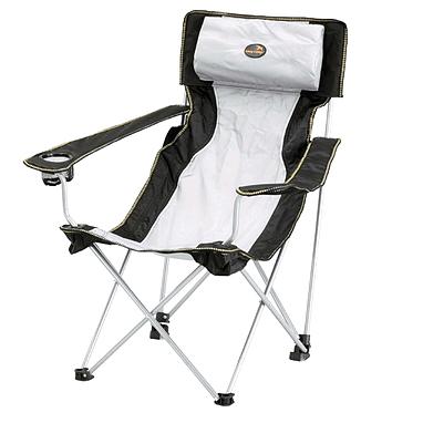 Кресло туристическое раскладное Easy Camp Holiday Hi-Back Grey