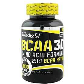 Аминокомплекс BioTech BCAA 3D (90 капсул)
