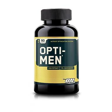 Комплекс витаминов и минералов Optimum Nutrition Opti-Men (180 таблеток) для мужчин