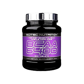 Аминокомплекс Scitec Nutrition BCAA 6400 (125 таблеток)