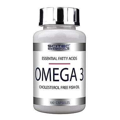 Комплекс жирных кислот Scitec Nutrition Omega 3 (100 капсул)