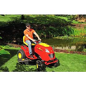 Фото 2 к товару Трактор-газонокосилка Wolf-Garten Ambition 76,125 H
