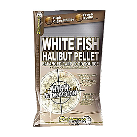 Фото 1 к товару Бойлы Starbaits White Fish Halibut Pellets (20 мм, 1 кг)