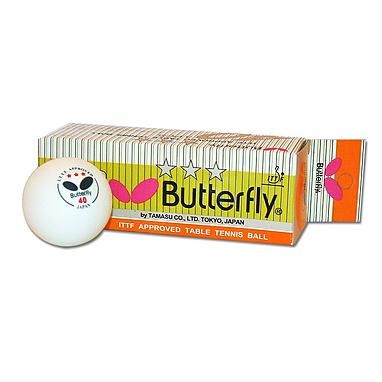 Набор мячей для настольного тенниса Butterfly (3 шт)