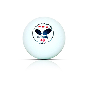 Фото 2 к товару Набор мячей для настольного тенниса Butterfly (3 шт)
