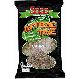 Прикормка Sensas 3000 Attractive Carp (1 кг)